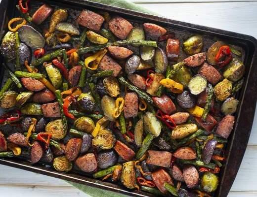 Pečená zelenina v peciPečená zelenina v peci