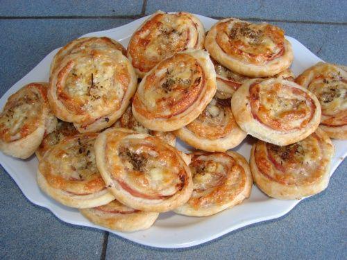 Lenivé pizza koláčiky z pece