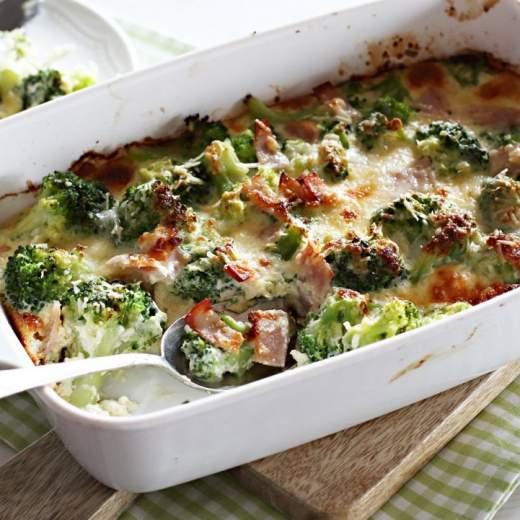 Brokolica v smotanovej omáčke