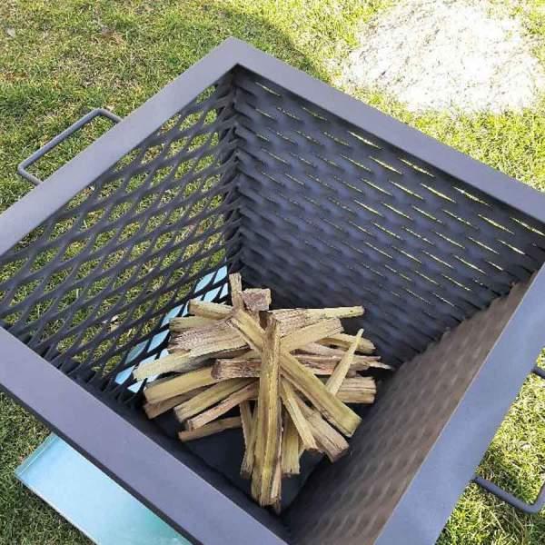 Záhradné kovové ohnisko a gril 3